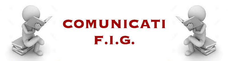comunicati fig
